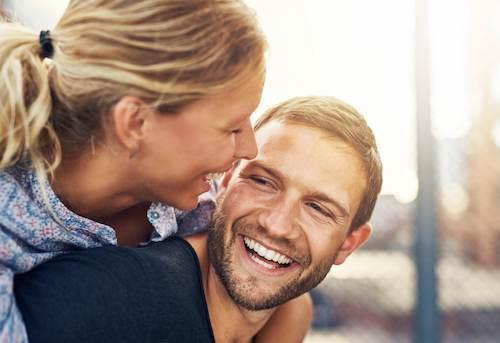 Couple Smiling | Toronto Invisalign