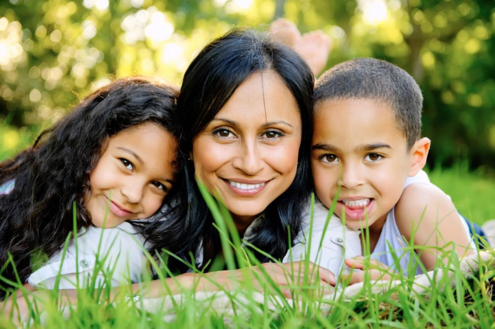 Two children and mother | Toronto Dentist