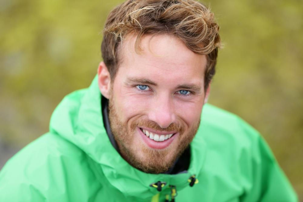 Man in green jacket | Dentist Toronto ON